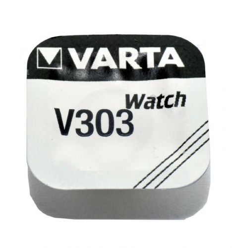 Varta V303 303 SR44SW Silver Oxide Watch Battery 1.55v [1-Pack]